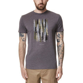 tentree Spruced Up T-Shirt Men, eiffel tower grey heather